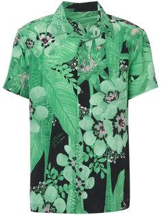 floral print shirt  Osklen
