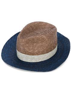 шляпа дизайна колор-блок Paul Smith