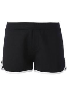 шорты с контрастной окантовкой Moncler