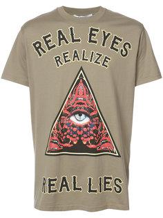 футболка с принтом слогана Givenchy