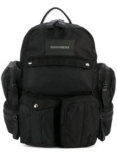 рюкзак с накладными карманами Dsquared2