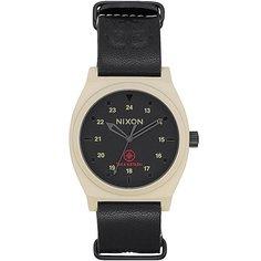 Кварцевые часы Nixon Time Teller Bone/Black Taka