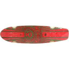 Дека для скейтборда для лонгборда Юнион Rose Red/Green 7.6 x 29.5 (75 см)