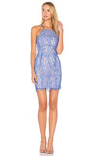 Кружевное мини-платье - Bobi