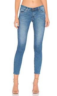 Укороченные стрейчевые джинсы - AG Adriano Goldschmied