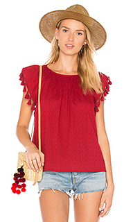 The tassel flutter top - The Great