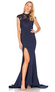 Кружевное вечернее платье tyra - Elle Zeitoune
