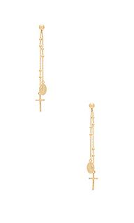 Свисающие серьги miraculous - Natalie B Jewelry