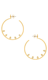 Posie pave statement hoops - Luv AJ