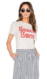 Майка с вырезом под горло beau beach bum - MATE the Label