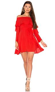 Платье со спущенными плечами raquel - Line & Dot