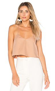 Cropped tank with shirred back - Tibi