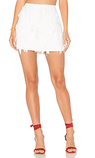 Frayed mini skirt - MILLY