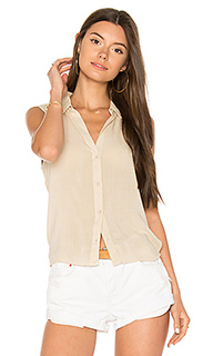 Button down tie back top - Bella Dahl