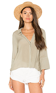 Flutter sleeve tie back shirt - Bella Dahl