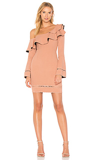 Bandage one shoulder dress - NICHOLAS