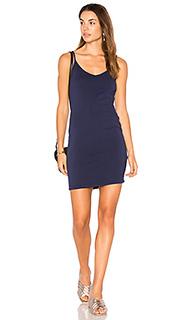 Платье с вырезом v - LA Made
