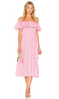 Платье на пуговицах mira - Lisa Marie Fernandez