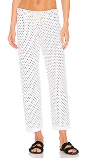 Swiss dot boyfriend sweatpant - MONROW