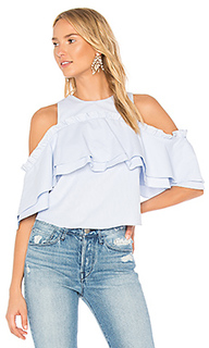 Elle double frill top - NICHOLAS