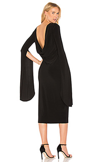 Draped low back dress - Norma Kamali