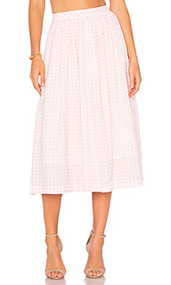 Gingham midi skirt - J.O.A.