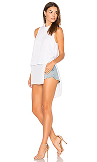 Chiffon shirttail tank - BCBGeneration