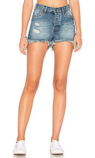 High waist bonita short - One Teaspoon