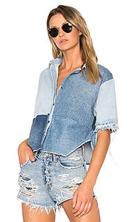 Укороченная рубашка на пуговицах - PRPS Goods & Co