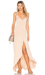 Макси платье с запахом dita - Clayton