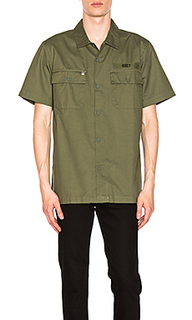 Mission military button down - Obey