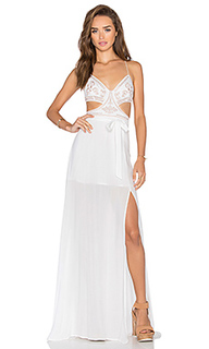 Макси платье goddess  - THE JETSET DIARIES