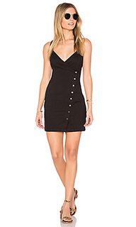 Lucy button wrap dress - MINKPINK