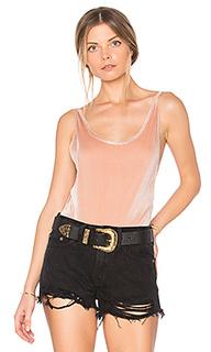 Plunge velvet bodysuit - MINKPINK