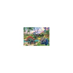 """Пазл """"Динозавры"""", 120 деталей, Castorland"""