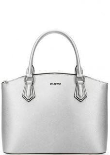 Кожаная сумка со съемным плечевым ремнем Fiato