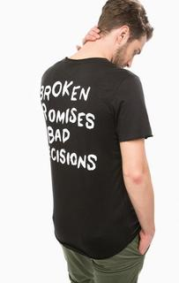 Черная футболка с короткими рукавами Jack & Jones