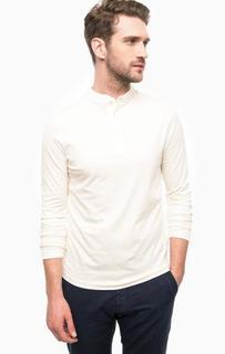 Хлопковая футболка с длинными рукавами Selected