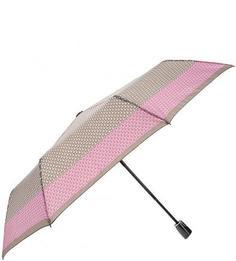 Складной зонт с куполом в горошек Doppler