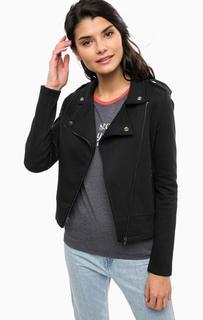 Черная хлопковая куртка Only
