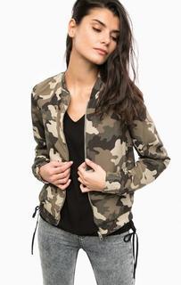 Двусторонняя куртка-бомбер на молнии Vero Moda