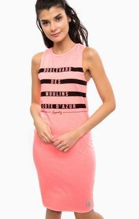 Трикотажное платье с принтом Superdry