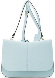 Голубая сумка из натуральной кожи Gianni Chiarini