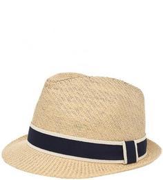 Плетеная бежевая шляпа Goorin Bros.