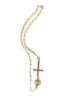 Колье с крестом Fausto Puglisi