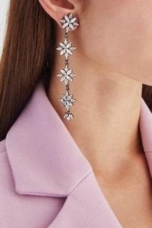 Серьги с кристаллами Ellen Conde