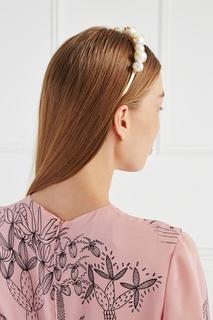 Ободок с жемчужными бусинами Lisa Smith