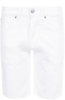 Джинсовые шорты с потертостями 2 Men Jeans