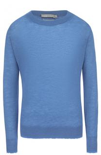 Кашемировый пуловер прямого кроя с круглым вырезом Vince