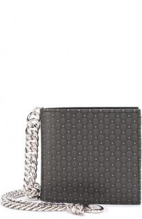 Текстильное портмоне с отделениями для кредитных карт и монет Alexander McQueen